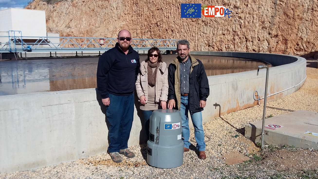 LIFE15-EMPORE project continues with the kickoff of the emerging pollutants analytical campaign carried out by Laboratorios Tecnológicos de Levante